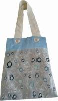 Shabbos Bag Multi Tone Blue Pomegranate Design