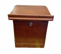Combination Lock Shtender from Siddur Stands