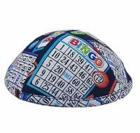 Star Kippah Bingo Size 3