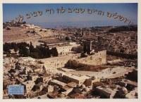 Har Habayis Laminated Sukkah Poster