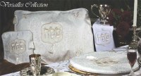 Seder Set 4 Piece Off White Versailles Collection