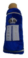 Sefer Torah Blue Plush Sefard 12""