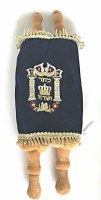 Stuffed Sefer Torah Genuine Look with Cloth Klaff 16""