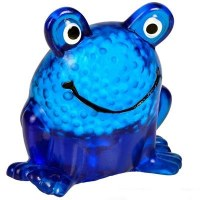 "Sticky Squeeze Frog 2.6"" Assorted Colors - Single Piece"