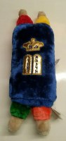 Stuffed Sefer Torah Assorted Colors 15""