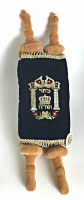 Stuffed Sefer Torah Genuine Looking Blue 18""