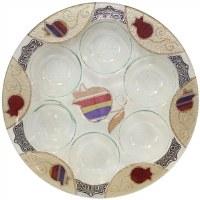 Seder Plate Round #LASEPPU