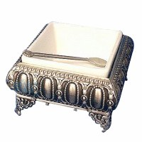 Single Section Pewter Serving Tray