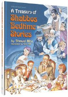 A Treasury of Shabbos Bedtime Stories [Hardcover]