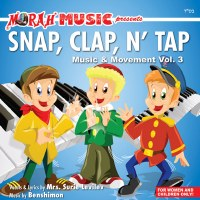 Snap, Clap N' Tap Music and Movement Volume 3 CD