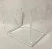 Shofar Stand Lucite Large
