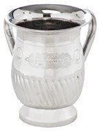Stainless Steel Washing Cup Large Size Vase Style