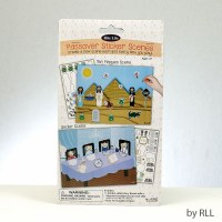 Passover Sticker Scene with Reusable Stickers