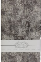 """Jacquard Tablecloth Ivory Grey Gold Abstract Pattern 54"""" x 72"""""""