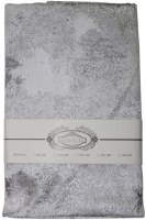 "Jacquard Tablecloth Silver Splash Pattern 70"" x 144"""