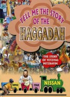 Tell Me the Story of the Haggadah Laminated Pages [Hardcover]