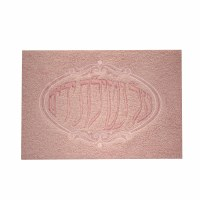 Towel with Al Netilas Yadayim Embroidery in Pink