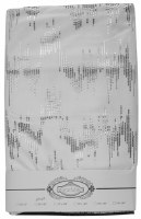 "Velvet Tablecloth White Silver Dotted Print 70"" x 108"""