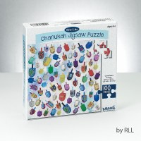 Chanukah Jigsaw Puzzle 100 Pieces