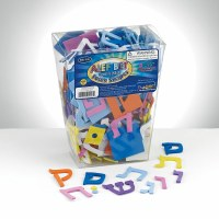 Peel and Stick Alef Bet Foam Shapes