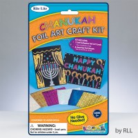 Chanukah Foil Art Craft Kit
