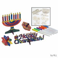 Chanukah Wood Craft Kit - Design Your Own