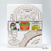 Passover Art Kit Paint a Canvas