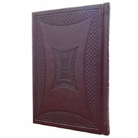 Tehillim Medium Faux Leather Kaftor Maroon
