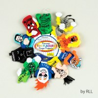 "Passover ""Ten Plagues"" Plush Finger Puppets"