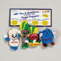 "The ""Four Questions"" Finger Puppets Set of 4"