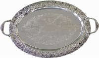 Tray Silver Plated #SPT17307