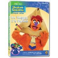 Shalom Sesame Vol. 6 Be Happy, It's Purim! DVD