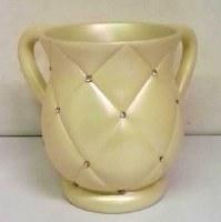Decorative Wash Cup Acrylic White