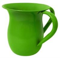 Wash Cup Glazed Aluminum Green