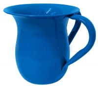 Wash Cup Glazed Aluminum Blue