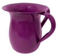 Wash Cup Glazed Aluminum Purple