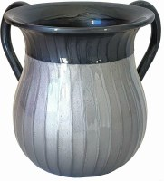 Washing Cup Enamel 2 Tone Grey