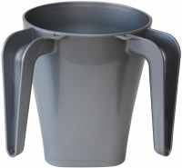 Plastic Washing Cup Grey