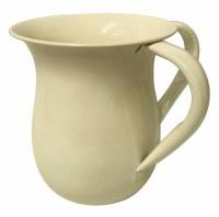 Wash Cup Glazed Aluminum Cream
