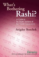 What's Bothering Rashi? Devarim [Hardcover]