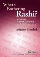What's Bothering Rashi? Volume 5: Devarim [Hardcover]