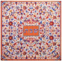 Yair Emanuel Wooden Trivet Square Multicolor Shabbos Design