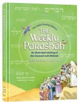 The Weekly Parashah Sefer Devarim Jaffa Family Edition [Hardcover]