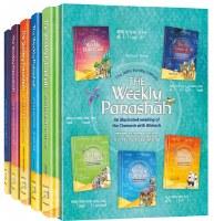 The Weekly Parashah 5 Volume Slipcased Set Jaffa Family Edition [Hardcover]