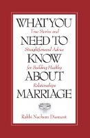 What You Need to Know About Marriage [Paperback]