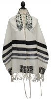 YE Tallit Set Magen David 20""