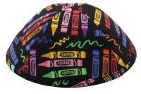 iKippah Crayon Box Yarmulke Size 18cm