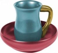 Yair Emanuel Judaica Anodize Aluminum Mayim Achronim Set Multicolor