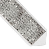 Atara Silver Colored Rectangles Surrounded by Small Rhinestones Design