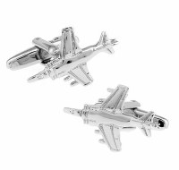 Battleplane Cufflinks with Cuff Link Display Gift Box